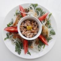 Natto salad
