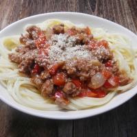 Spaghetti Bolognese ala Indonesiana