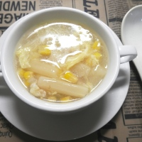 White Asparagus Corn Soup