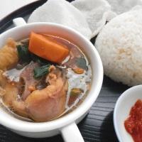 Oxtail Soup ala Hotel Borobudur