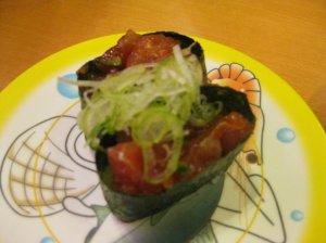 tuna green onion