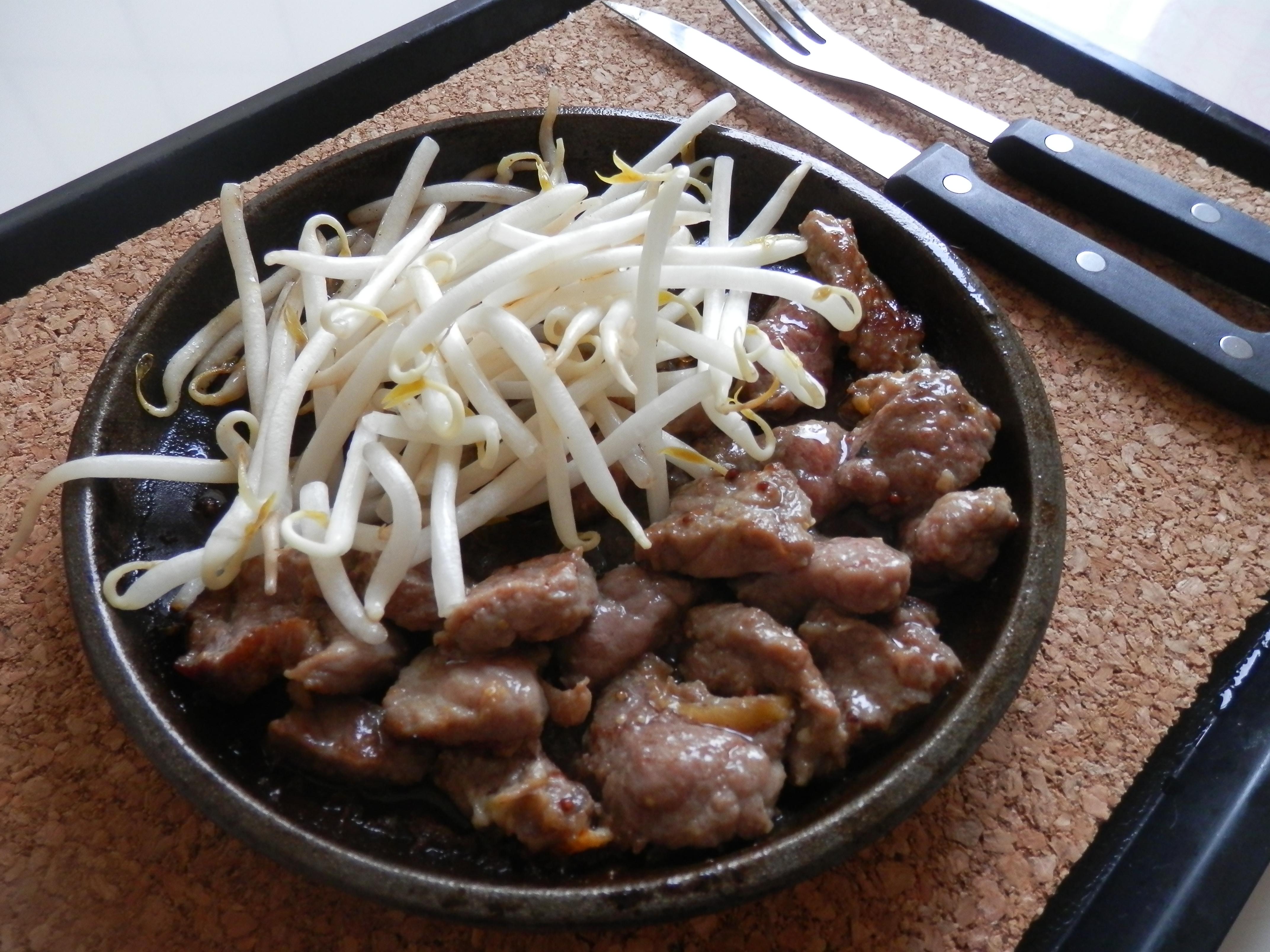 P Sizzling Pepper Steak