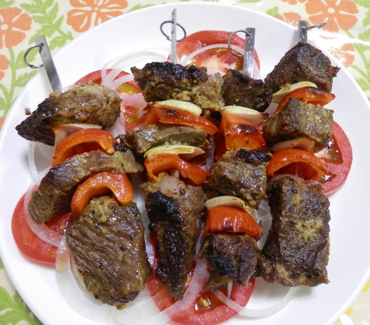 North African Lamb Kebabs | Mama Miyuki Easy Pantsy