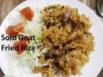 solo goat fried rice