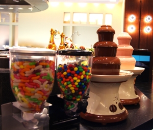 teatro chocolate fondue
