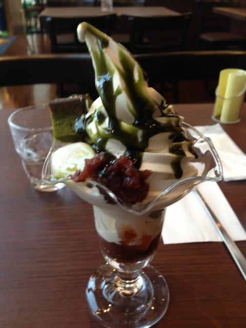 Sendai vegalta cafe sundae