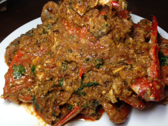 padang chili crab