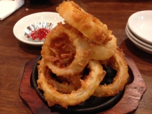 stone burg Onion rings