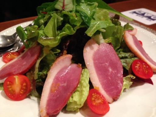 marusankakusikaku ahiru salad